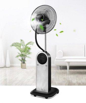 Aigostar Forest Mist - Mist ventilator - Zwart/RVS